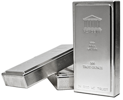 100 Oz Silver Academy Bars