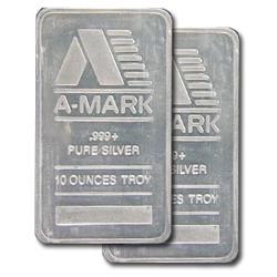 10 Oz Amark Silver Bar