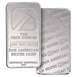 10 Oz Pan American Silver Bar