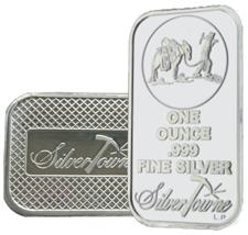 Silvertowne 1 Oz Silver Bars