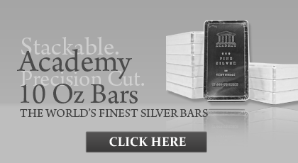 10 oz Academy Silver Bars